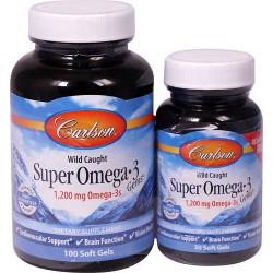 CARLSON Super Omega-3 Gems 100+30 softgels