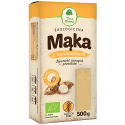 DARY NATURY Mąka z topinamburu BIO bezglutenowa 500g
