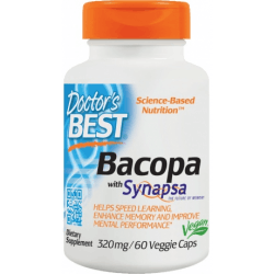 DOCTOR'S BEST Bacopa with Synapsa 320 mg 60 kaps.