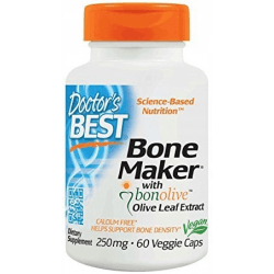 DOCTOR'S BEST Bone Maker with Bonolive 250mg 60 kaps.