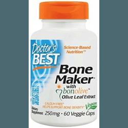 DOCTOR'S BEST Bone Maker with Bonolive 250mg 60 kaps.
