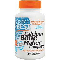 DOCTOR'S BEST Calcium Bone Maker Complex 180 kaps.