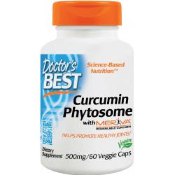 DOCTOR'S BEST Curcumin Phytosome 500mg 60 kaps.