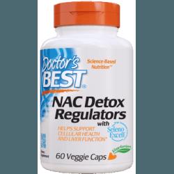 DOCTOR'S BEST NAC Detox Regulators 60 kaps.