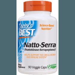 DOCTOR'S BEST Natto-Serra 90 kaps.
