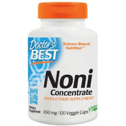 DOCTOR'S BEST Noni Concentrate 650mg 120 kaps.