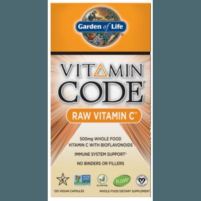 GARDEN Vitamin Code Raw Vitamin C 120 kaps.