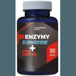 HEPATICA Enzymy Trawienne + Probiotyk 180 kaps.