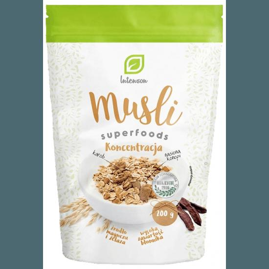 INTENSON Musli Superfoods Koncentracja 200g