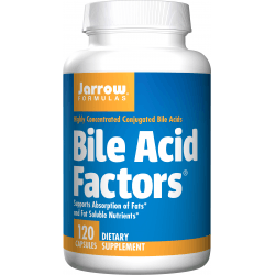 JARROW Bile Acid Factors 120 kaps.
