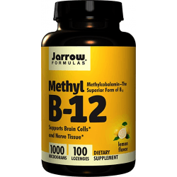 JARROW Methyl B-12 1000mcg 100 pastylek