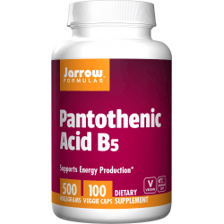 JARROW Pantothenic Acid 500mg 100 kaps.