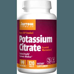 JARROW Potassium Citrate 99mg 120 tab.