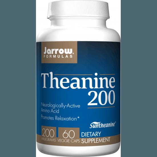 JARROW Theanine 200 200mg 60 kaps.