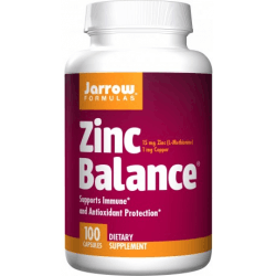 JARROW Zinc Balance 100 kaps.