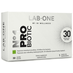 LAB ONE No1 Probiotic 30 kaps.