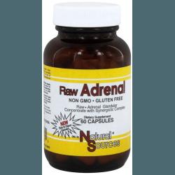NATURAL SOURCES Raw Adrenal 60 kaps.