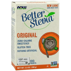 NOW FOODS Better Stevia Original 100 sasz.