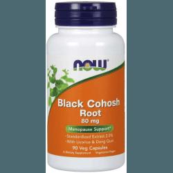 NOW FOODS Black Cohosh Root 80mg 90 kaps.