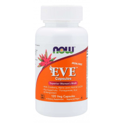 NOW FOODS Eve Women's Multiple Vitamin 120 kaps.