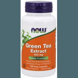 NOW FOODS Green Tea Extract 400mg 100 kaps.