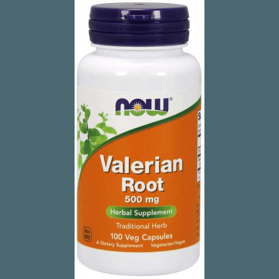 NOW FOODS Valerian Root 500mg 100 kaps.