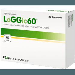 PHARMABEST LoGGic 60 20 kaps.
