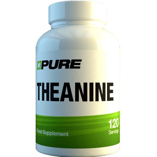 PURE Theanine 500mg 120 kaps.