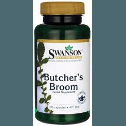 SWANSON Butcher's Broom 470mg 100 kaps