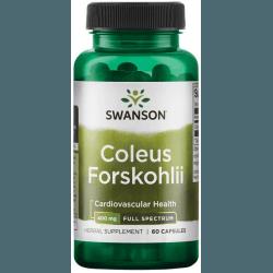 SWANSON Coleus Forskohlii 400mg 60 kaps.