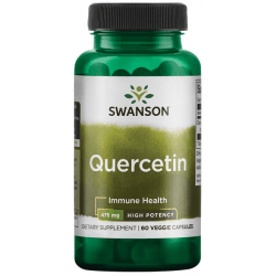 SWANSON High Potency Quercetin 475 mg 60 kaps.