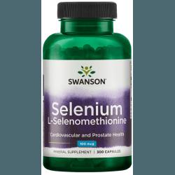 SWANSON Selenium 100mcg 300 kaps.