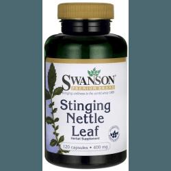 SWANSON Stinging Nettle Leaf 400mg 120 kaps.