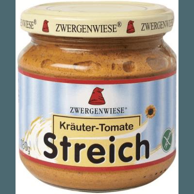 ZWERGENWIESE Pasta słonecznikowa z ziołami i pomidorami BIO bezglutenowa 180g